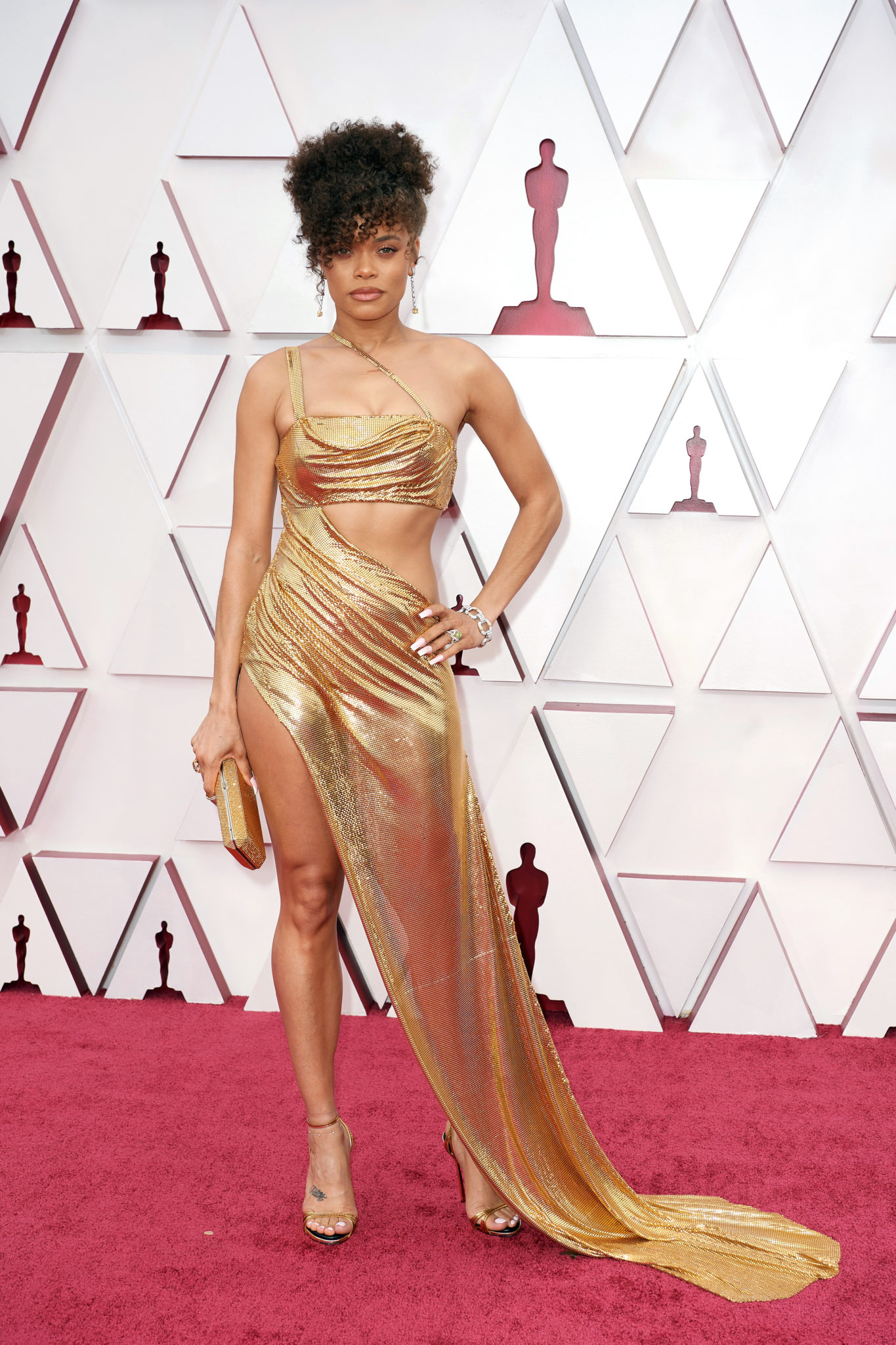 Andra Day at the 93rd Oscars