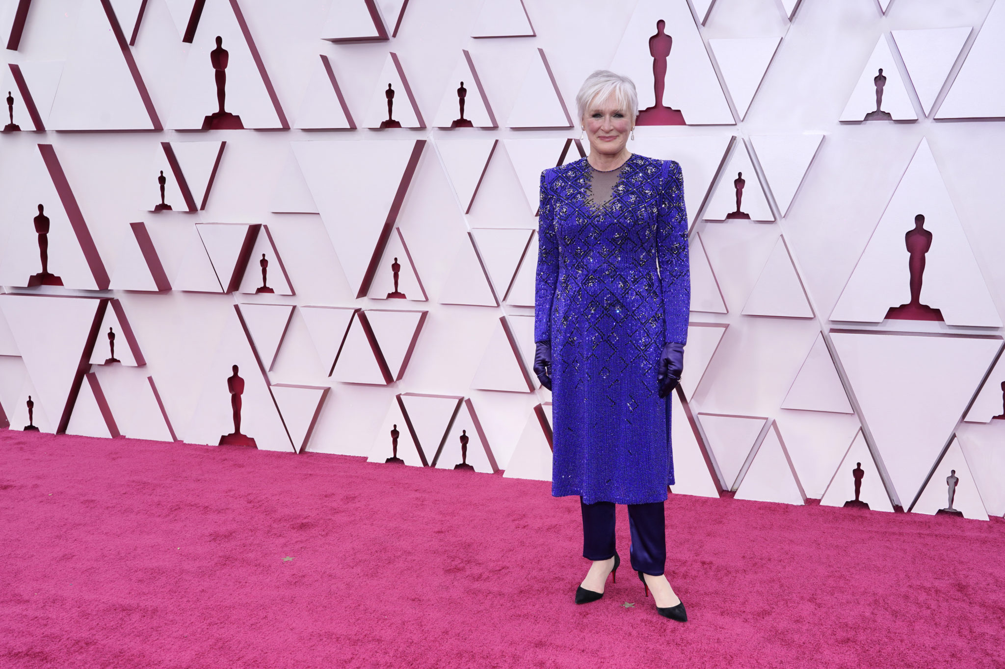 Glenn Close at the 93rd Oscars
