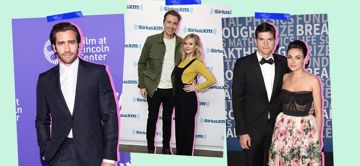 Jake Gyllenhaal, Mila Kunis & Ashton Kutcher, Kristen Bell & Dax Shepard